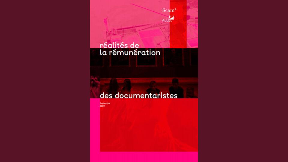 La rémunération des documentaristes - Etude Scam - Addoc